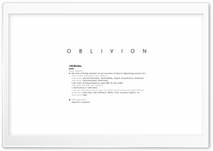 Oblivion HD Wide Wallpaper for Widescreen