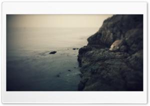 Ocean and Rock HD Wide Wallpaper for Widescreen