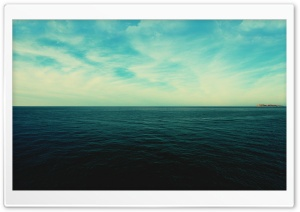 Ocean And Sky HD Wide Wallpaper for Widescreen