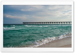 Ocean Pier HD Wide Wallpaper for Widescreen