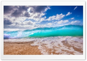 Ocean Waves HD Wide Wallpaper for Widescreen
