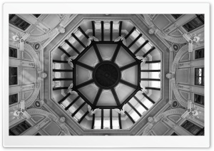 Octagonal Ceiling Ultra HD Wallpaper for 4K UHD Widescreen desktop, tablet & smartphone