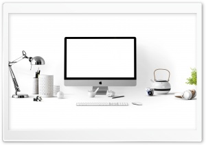 Office Desk Decor HD Wide Wallpaper for 4K UHD Widescreen desktop & smartphone