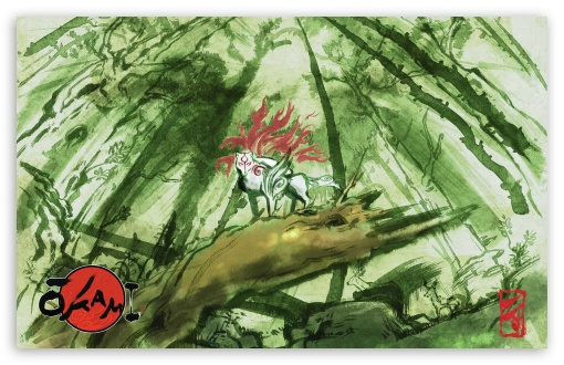 Okami Game HD wallpaper for Wide 16:10 5:3 Widescreen WHXGA WQXGA WUXGA WXGA WGA ; HD 16:9 High Definition WQHD QWXGA 1080p 900p 720p QHD nHD ; Standard 3:2 Fullscreen DVGA HVGA HQVGA devices ( Apple PowerBook G4 iPhone 4 3G 3GS iPod Touch ) ; Mobile 5:3 3:2 16:9 - WGA DVGA HVGA HQVGA devices ( Apple PowerBook G4 iPhone 4 3G 3GS iPod Touch ) WQHD QWXGA 1080p 900p 720p QHD nHD ;