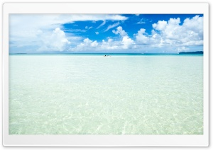 Okinawa Island Crystal Clear Water HD Wide Wallpaper for Widescreen
