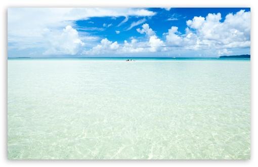 Okinawa Island Crystal Clear Water 4k Hd Desktop