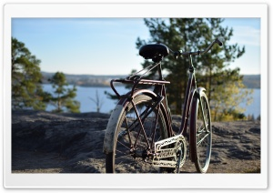 Old Bike HD Wide Wallpaper for Widescreen