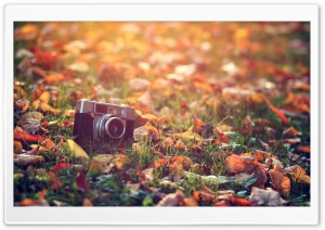 Old Camera HD Wide Wallpaper for Widescreen