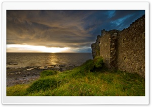 Old Castle Wall HD Wide Wallpaper for Widescreen