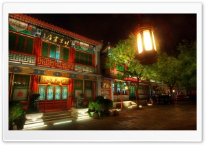 Old Chinese Houses HD Wide Wallpaper for 4K UHD Widescreen desktop & smartphone