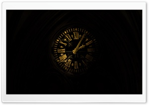Old Clock HD Wide Wallpaper for Widescreen