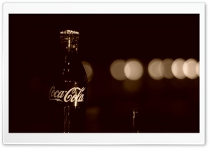 Old Coca Cola Bottle HD Wide Wallpaper for Widescreen