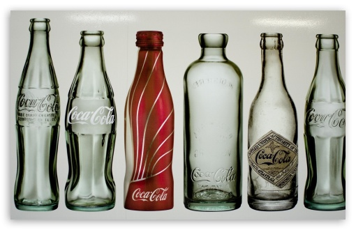 Old Coca-Cola Bottles HD wallpaper for Wide 16:10 5:3 Widescreen WHXGA WQXGA WUXGA WXGA WGA ; Mobile 5:3 - WGA ;