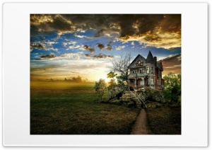 Old House HD Wide Wallpaper for Widescreen