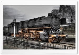 Old Locomotive HD Wide Wallpaper for Widescreen