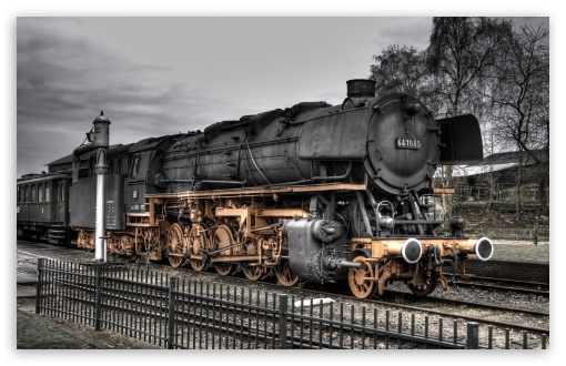 Old Locomotive HD wallpaper for Wide 16:10 5:3 Widescreen WHXGA WQXGA WUXGA WXGA WGA ; HD 16:9 High Definition WQHD QWXGA 1080p 900p 720p QHD nHD ; Standard 3:2 Fullscreen DVGA HVGA HQVGA devices ( Apple PowerBook G4 iPhone 4 3G 3GS iPod Touch ) ; Mobile 5:3 3:2 16:9 - WGA DVGA HVGA HQVGA devices ( Apple PowerBook G4 iPhone 4 3G 3GS iPod Touch ) WQHD QWXGA 1080p 900p 720p QHD nHD ;
