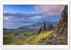 Old Man of Storr, Isle of Skye, Scotland HD Wide Wallpaper for 4K UHD Widescreen desktop & smartphone