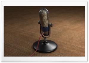 Old Microphone Ultra HD Wallpaper for 4K UHD Widescreen desktop, tablet & smartphone