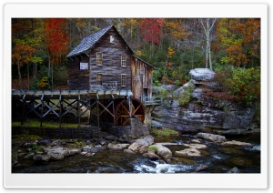 Old Mill HD Wide Wallpaper for Widescreen