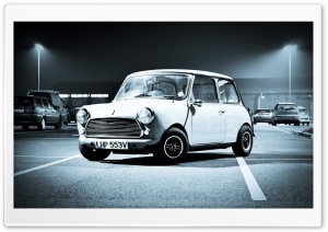Old Mini Cooper HD Wide Wallpaper for Widescreen