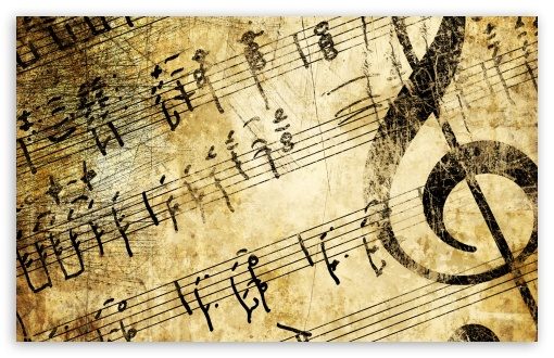 Old Music Score 4k Hd Desktop Wallpaper For 4k Ultra Hd Tv