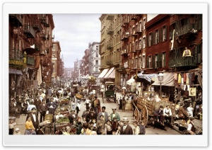 Old New York City HD Wide Wallpaper for Widescreen