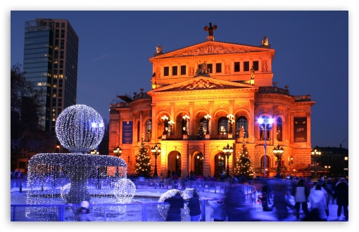 Old Opera in Frankfurt am Main, Germany HD wallpaper for Wide 16:10 5:3 Widescreen WHXGA WQXGA WUXGA WXGA WGA ; HD 16:9 High Definition WQHD QWXGA 1080p 900p 720p QHD nHD ; Standard 4:3 5:4 3:2 Fullscreen UXGA XGA SVGA QSXGA SXGA DVGA HVGA HQVGA devices ( Apple PowerBook G4 iPhone 4 3G 3GS iPod Touch ) ; Tablet 1:1 ; iPad 1/2/Mini ; Mobile 4:3 5:3 3:2 16:9 5:4 - UXGA XGA SVGA WGA DVGA HVGA HQVGA devices ( Apple PowerBook G4 iPhone 4 3G 3GS iPod Touch ) WQHD QWXGA 1080p 900p 720p QHD nHD QSXGA SXGA ;