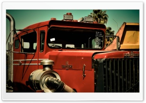 Old Oshkosh Truck HD Wide Wallpaper for Widescreen