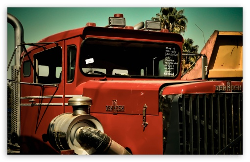 Old Oshkosh Truck HD wallpaper for Wide 16:10 5:3 Widescreen WHXGA WQXGA WUXGA WXGA WGA ; HD 16:9 High Definition WQHD QWXGA 1080p 900p 720p QHD nHD ; Standard 3:2 Fullscreen DVGA HVGA HQVGA devices ( Apple PowerBook G4 iPhone 4 3G 3GS iPod Touch ) ; Mobile 5:3 3:2 16:9 - WGA DVGA HVGA HQVGA devices ( Apple PowerBook G4 iPhone 4 3G 3GS iPod Touch ) WQHD QWXGA 1080p 900p 720p QHD nHD ;