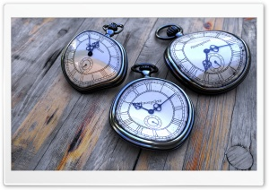 Old Pocket Watches HD Wide Wallpaper for Widescreen