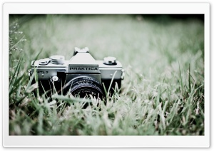 Old Praktica Camera HD Wide Wallpaper for Widescreen