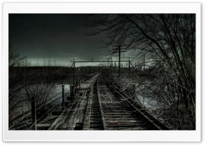 Old Railroad HD Wide Wallpaper for Widescreen