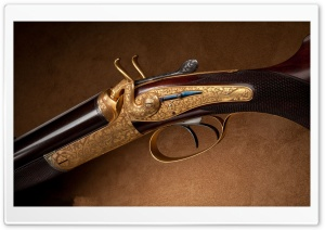 Old Rifle HD Wide Wallpaper for Widescreen