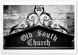 Old South Church Ultra HD Wallpaper for 4K UHD Widescreen desktop, tablet & smartphone