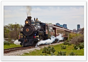 Old Steam Locomotive HD Wide Wallpaper for Widescreen