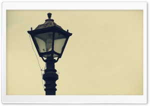 Old Street Lamp HD Wide Wallpaper for Widescreen
