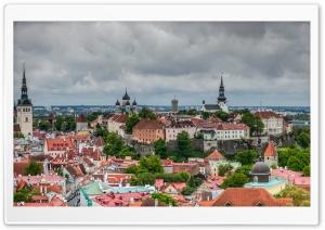 Old Town Tallinn Ultra HD Wallpaper for 4K UHD Widescreen desktop, tablet & smartphone