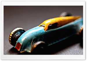 Old Toy Car HD Wide Wallpaper for Widescreen