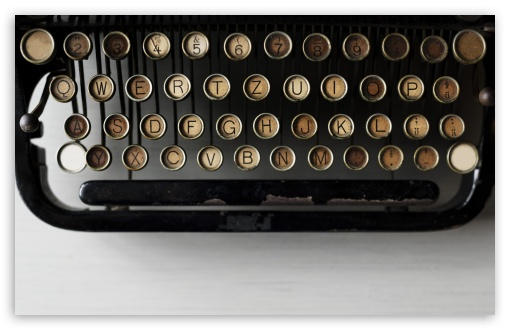Old Typewriter HD wallpaper for Wide 16:10 5:3 Widescreen WHXGA WQXGA WUXGA WXGA WGA ; UltraWide 21:9 24:10 ; HD 16:9 High Definition WQHD QWXGA 1080p 900p 720p QHD nHD ; UHD 16:9 WQHD QWXGA 1080p 900p 720p QHD nHD ; Standard 3:2 Fullscreen DVGA HVGA HQVGA devices ( Apple PowerBook G4 iPhone 4 3G 3GS iPod Touch ) ; Mobile 5:3 3:2 16:9 - WGA DVGA HVGA HQVGA devices ( Apple PowerBook G4 iPhone 4 3G 3GS iPod Touch ) WQHD QWXGA 1080p 900p 720p QHD nHD ; Dual 16:10 5:3 4:3 5:4 3:2 WHXGA WQXGA WUXGA WXGA WGA UXGA XGA SVGA QSXGA SXGA DVGA HVGA HQVGA devices ( Apple PowerBook G4 iPhone 4 3G 3GS iPod Touch ) ;