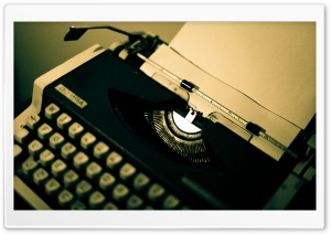 Old Typewriter HD Wide Wallpaper for Widescreen