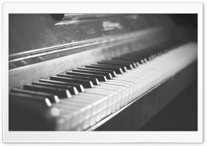 Old Vintage Piano HD Wide Wallpaper for Widescreen
