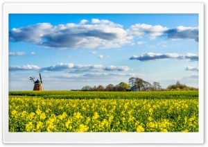 Old Windmill HD Wide Wallpaper for Widescreen