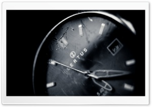 Old Wristwatch HD Wide Wallpaper for Widescreen