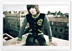 Oliver Sykes HD Wide Wallpaper for Widescreen