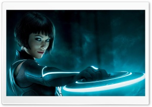 Olivia Wilde In Tron HD Wide Wallpaper for Widescreen