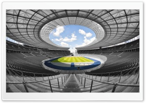 Olympiastadion Berlin HD Wide Wallpaper for Widescreen