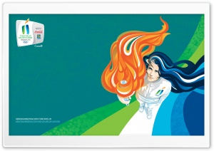 Olympic Flame HD Wide Wallpaper for Widescreen