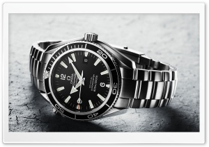Omega Wristwatch HD Wide Wallpaper for Widescreen
