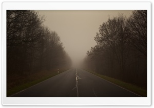 On A Foggy Day HD Wide Wallpaper for Widescreen