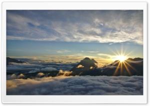 On Cloud Nine HD Wide Wallpaper for Widescreen